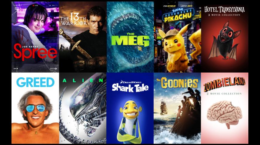 photo of 'Detective Pikachu,' 'Alien,' 'The Meg' - the best iTunes video deals image