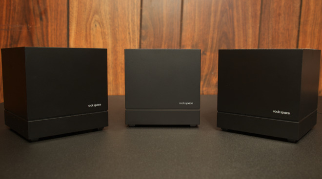 The Rock Space AC1200 Mesh Wi-Fi Routers