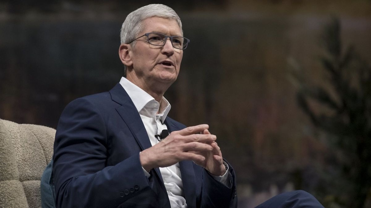 Apple CEO Tim Cook interviewed following the subcommittee testimony.