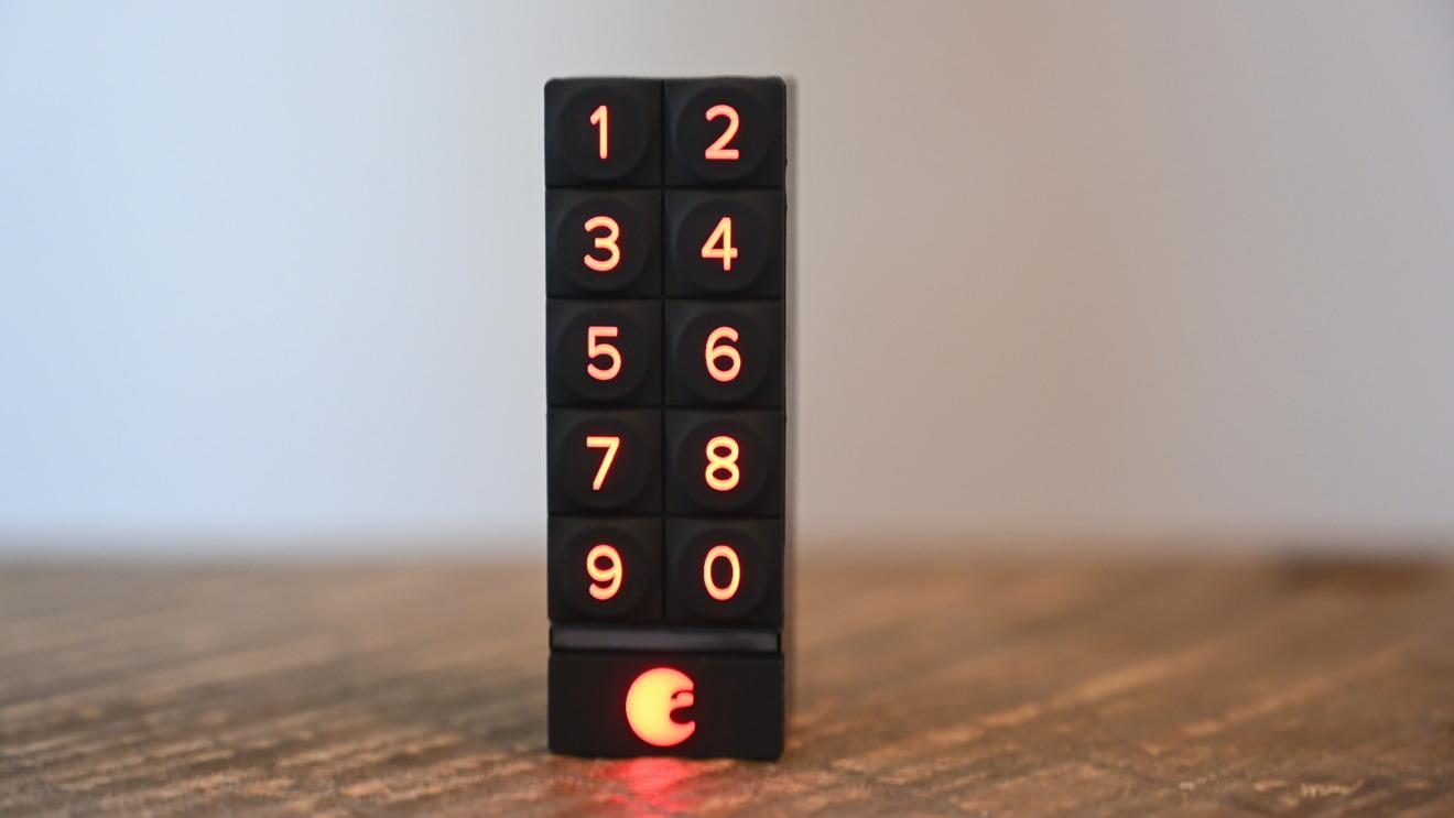August Smart Keypad backlit numbers