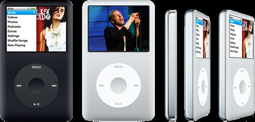 The 5th-gen iPod Classic