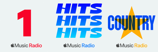 Apple Music radio's new lineup of stations