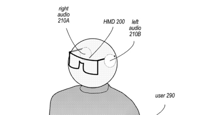 Detail from the patent showing a user wearing