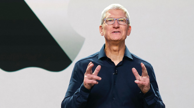 Tim Cook at WWDC 2020