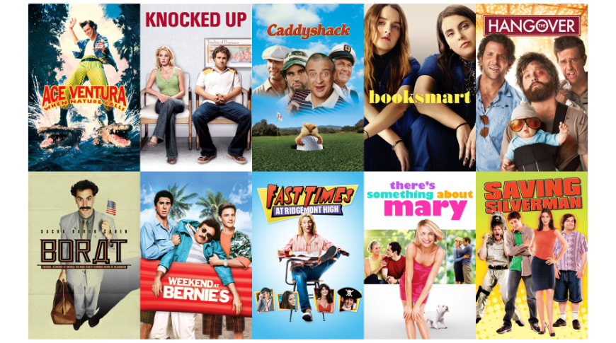 Outrageous Comedies