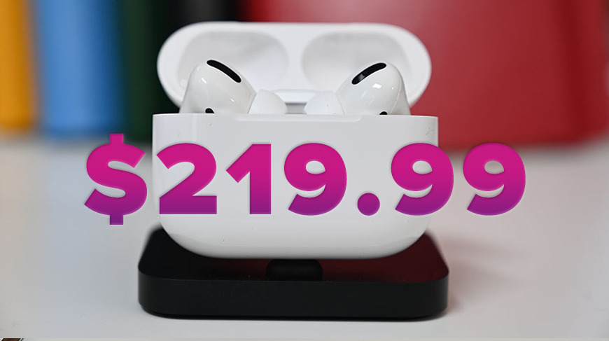 Rock Bottom Airpods Pro Price Returns Today Plus Official Apple Iphone 11 Case Sale Appleinsider