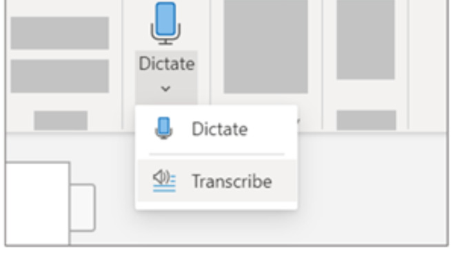 Dictate with commands or transcribe entire conversations