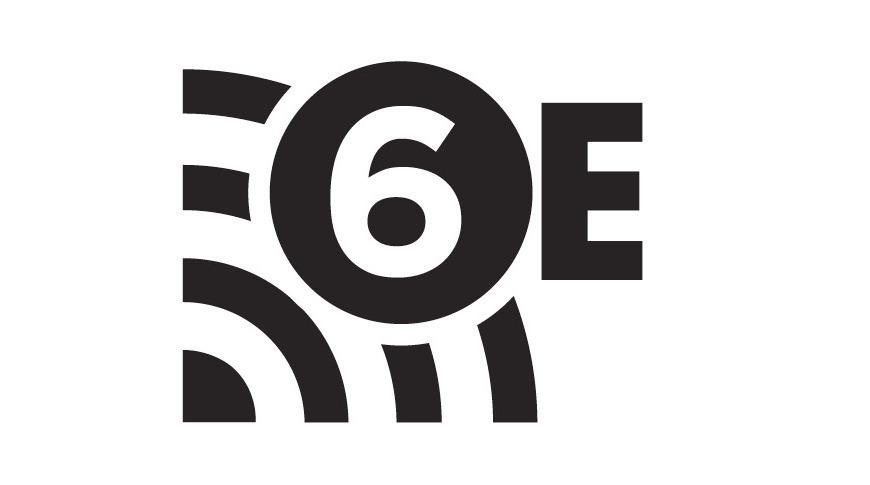 Not an official logo for Wi-Fi 6E, as it has yet to be confirmed.