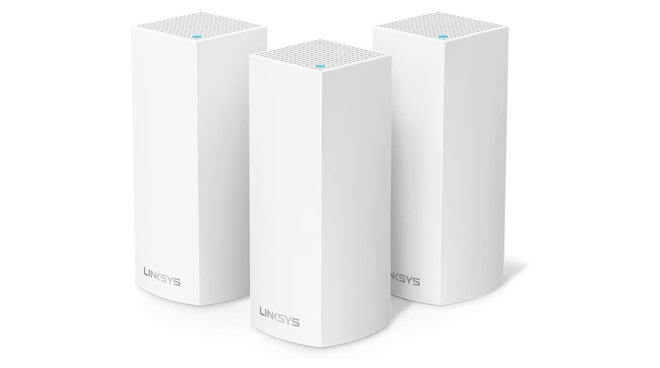 Linksys Velop, an example of a mesh networking bundle using multiple access points.