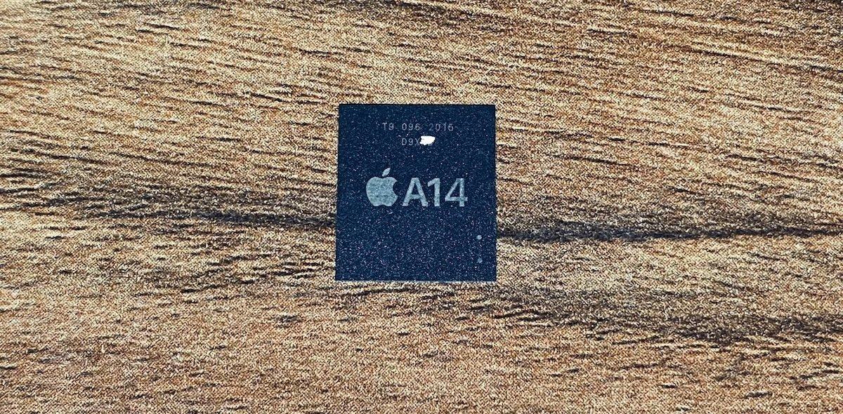 An alleged photo of the A14 SoC [via Mr. White]