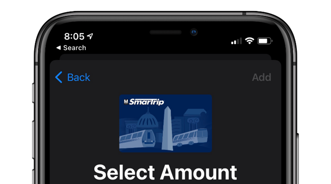 SmarTrip launches on iPhone and Apple Watch with Express Transit