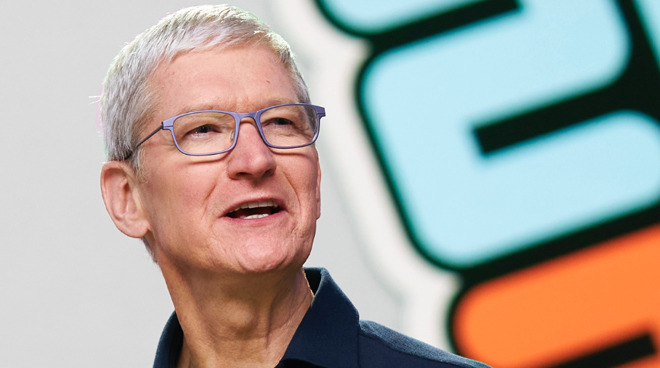 Tim Cook says Apple is committed to human rights