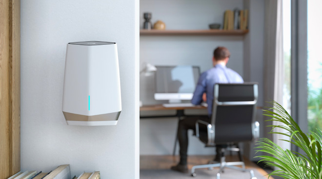 Netgear Orbi Pro WiFi 6 Tri-band Mesh System brings reliable WiFi to your small business