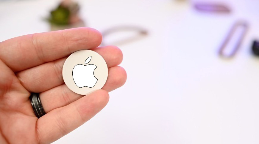 A concept image for Apple's 'AirTags'