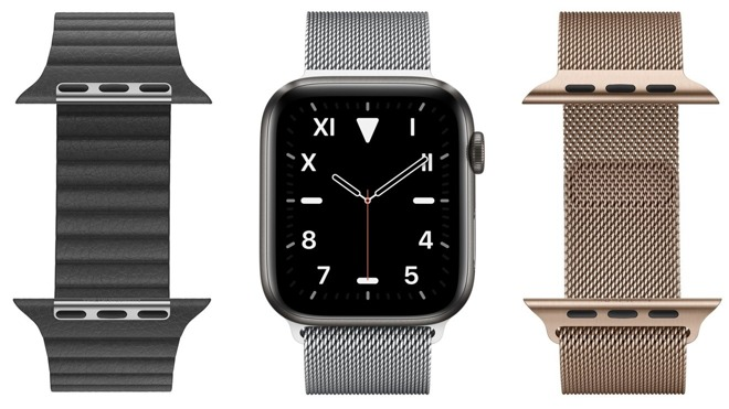 Plastic could join the existing list of Apple Watch casing materials in 2020.