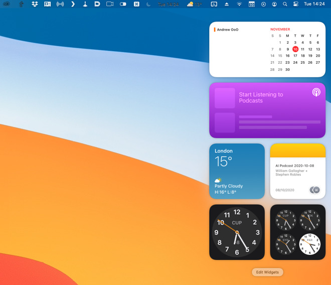 Widgets become more useful and more iOS 14-like