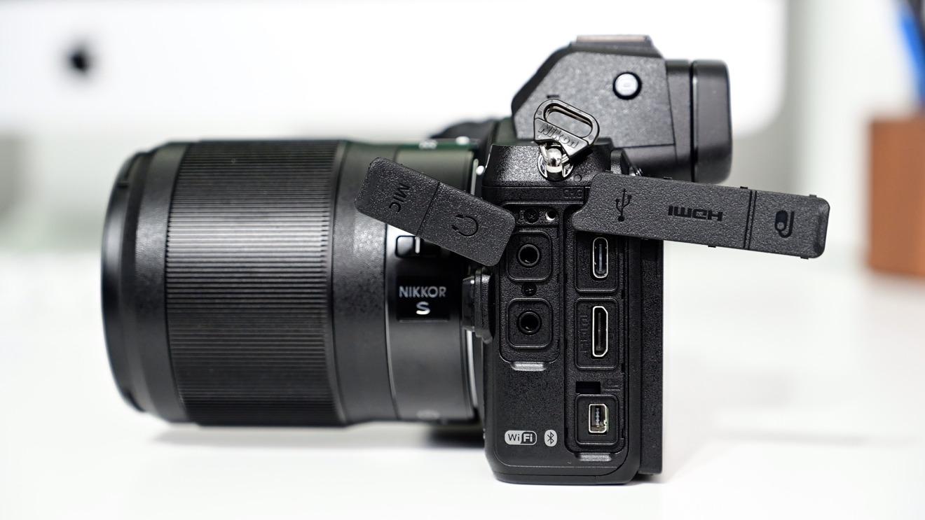 Nikon Z5 ports