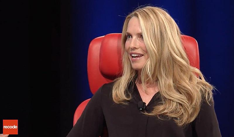 Laurene Powell Jobs speaking in 2017