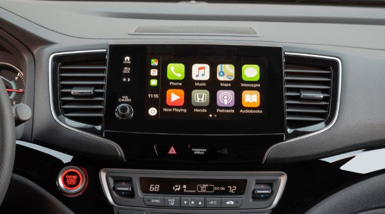 Honda makes CarPlay a standard feature of the 2021 Passport SUV  image
