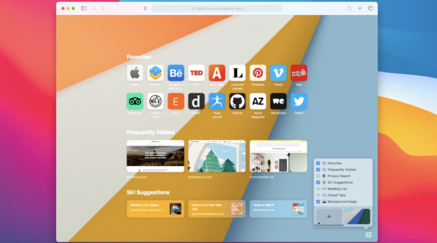 Safari has been updated with a new start page, broader extensions support, and new privacy features.
