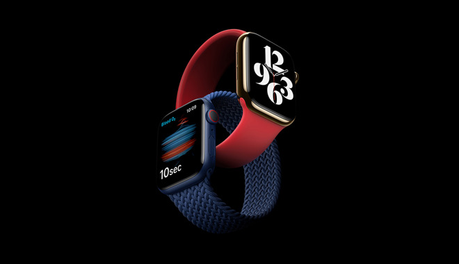 The new Apple Watch Series 6. Credit: Apple