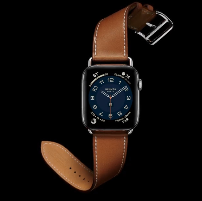 New single-tour Apple Watch Series 6 Hermes band