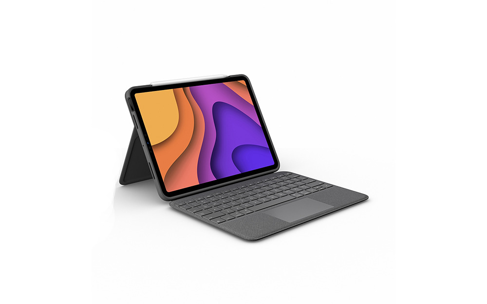 photo of Logitech debuts new Folio Touch keyboard with trackpad for iPad Air image