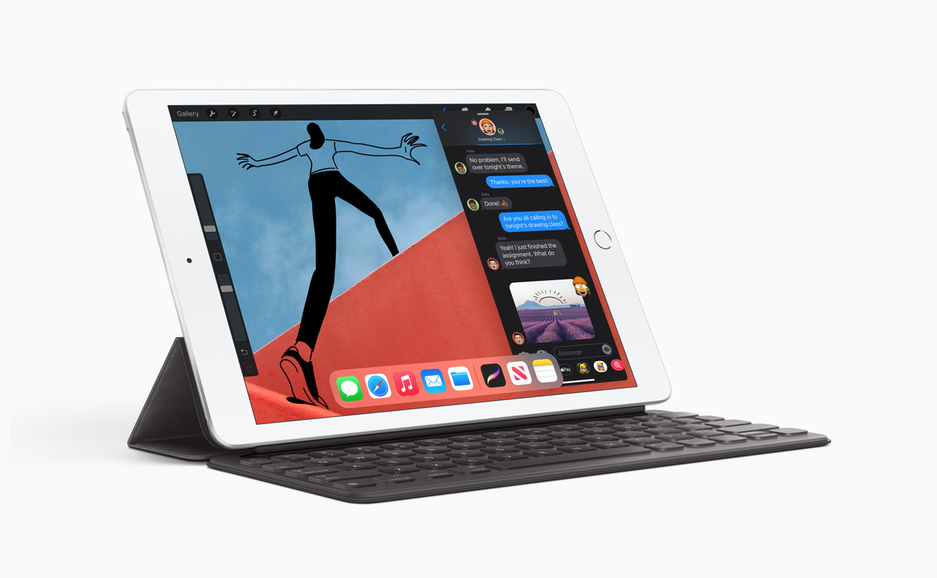 Smart Keyboard support in the 2020 iPad makes work on the move more appealing