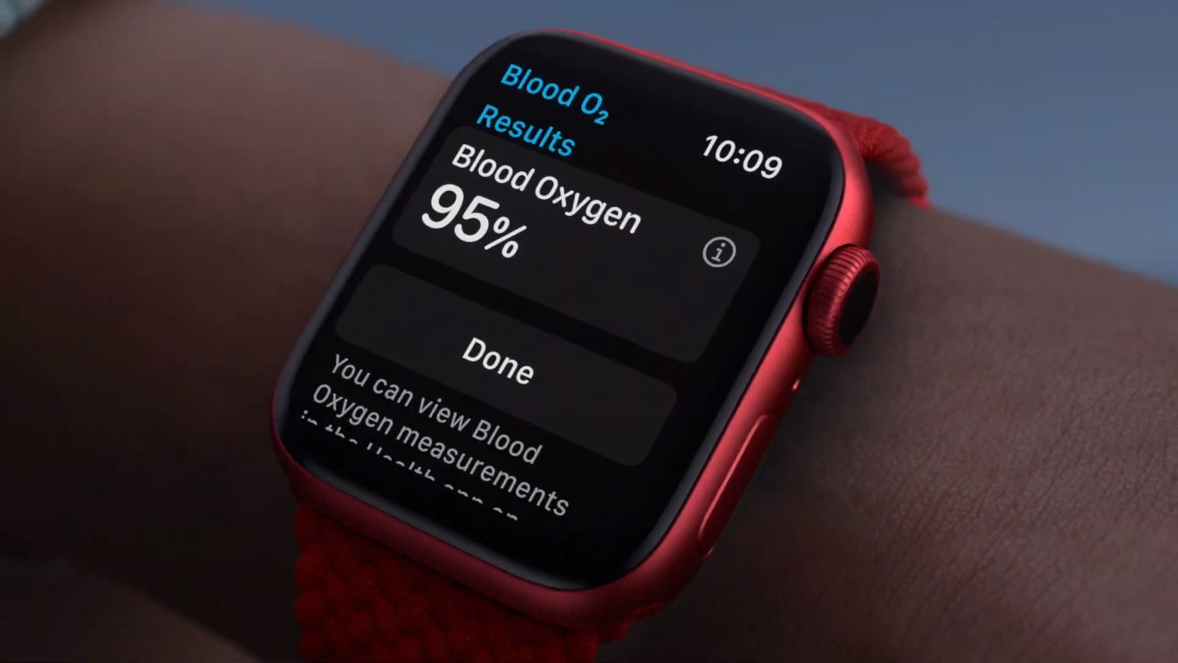 The Apple Watch Series 6 now features blood oxygen monitoring