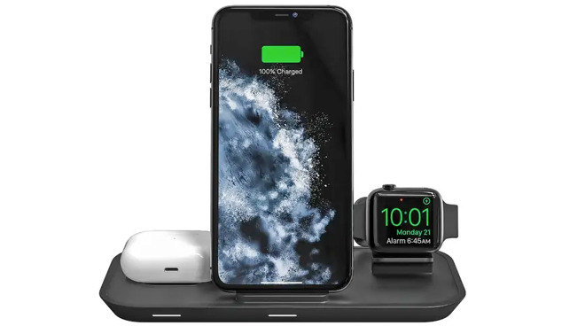 Mophie announces new 3-in-1 wireless charger for iPhone, Apple Watch, and AirPods