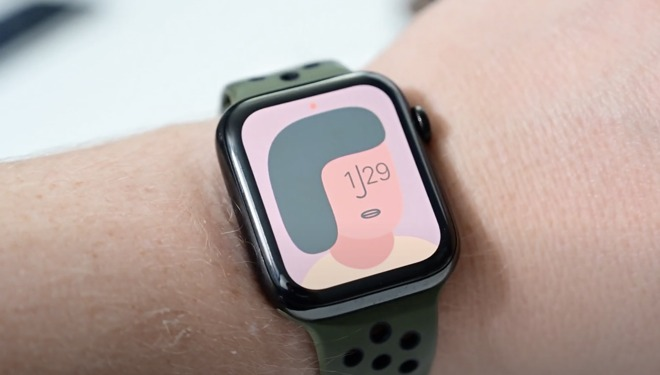The colorful new Artist watch face