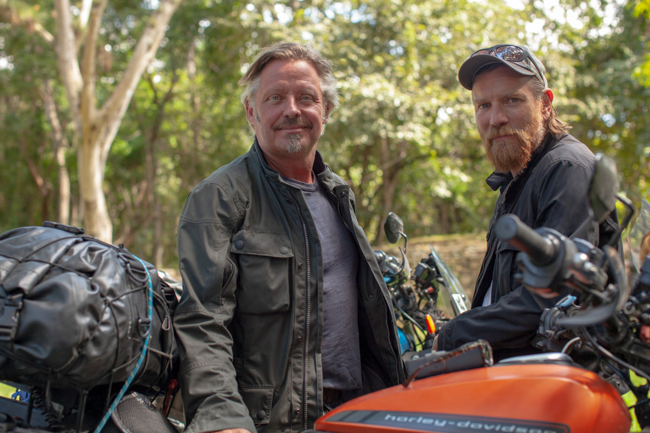 Charley Boorman and Ewan McGregor in