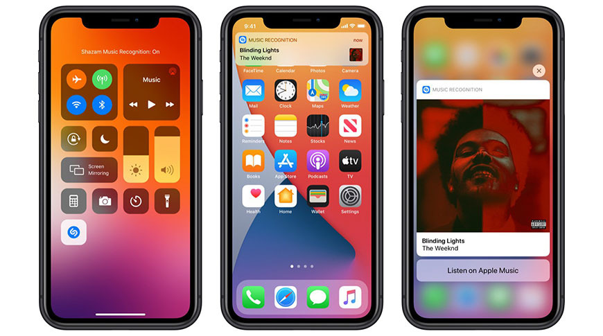 photo of iOS 14.2 beta adds Shazam music recognition to Control Center image