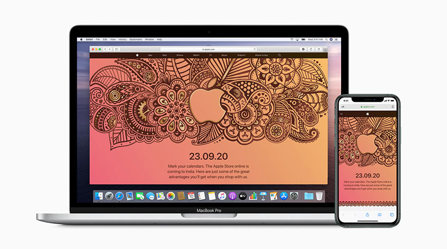 Apple's first online store in India to launch on September 23