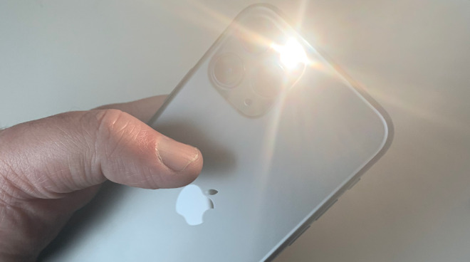 The Flashlight on the back of iPhones is remarkably versatile and quick to turn on or off
