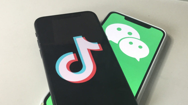 Even if TikTok and WeChat are banned, existing users will be able to keep using them