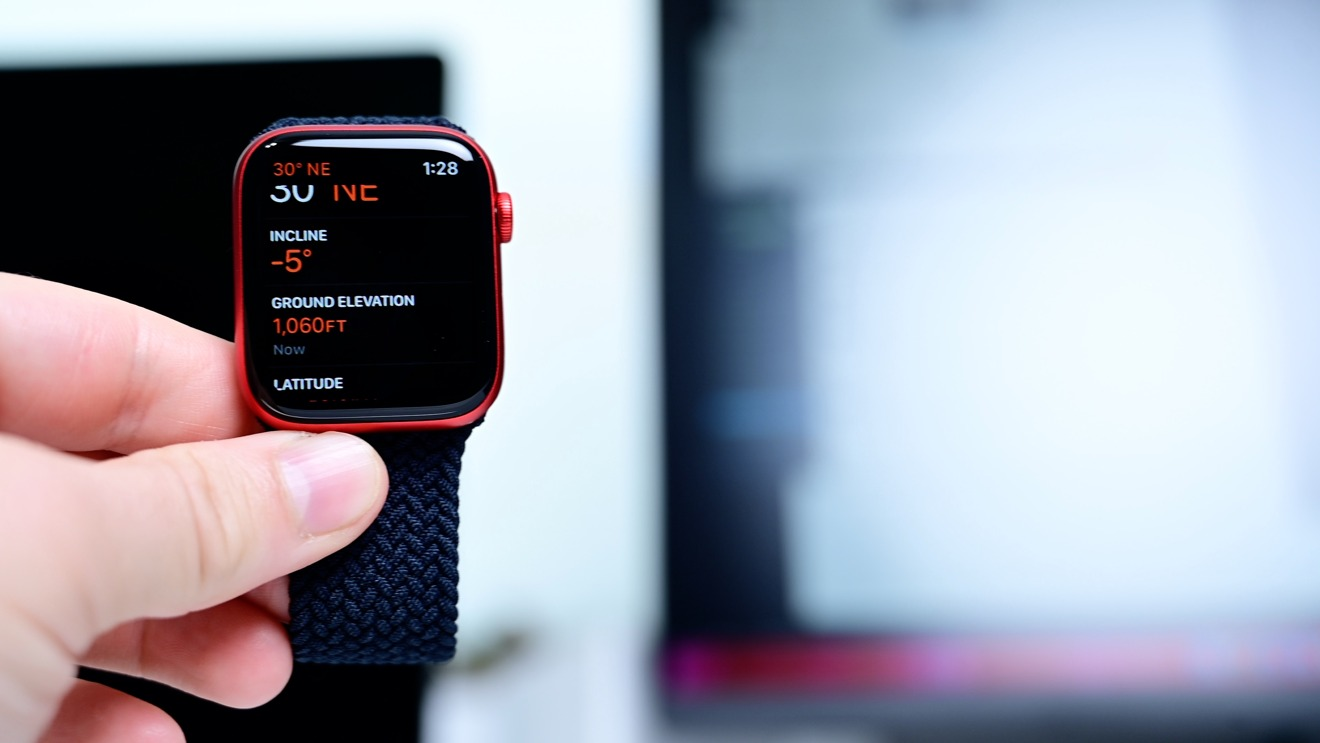 See your elevation in real-time on Apple Watch Series 6