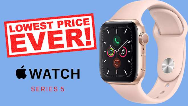 Apple Watch Series 5 Lowest Price Ever