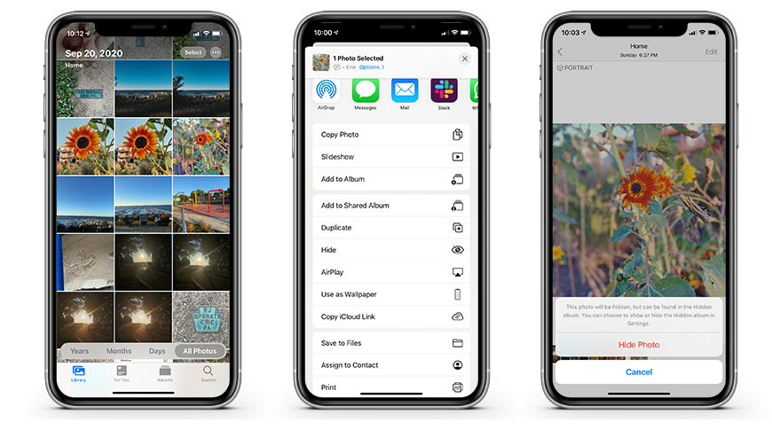 How To Hide Photos And Albums In Ios 14 Appleinsider