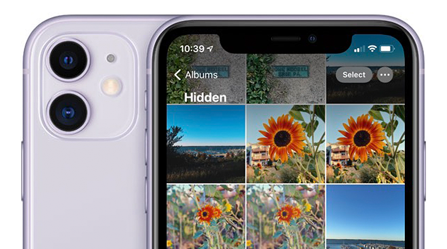 photo of How to hide photos and albums in iOS 14 image