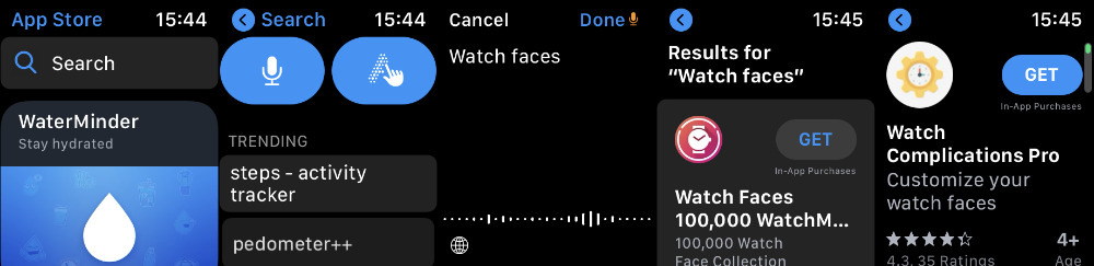 How to find and buy Watch faces directly on Apple Watch