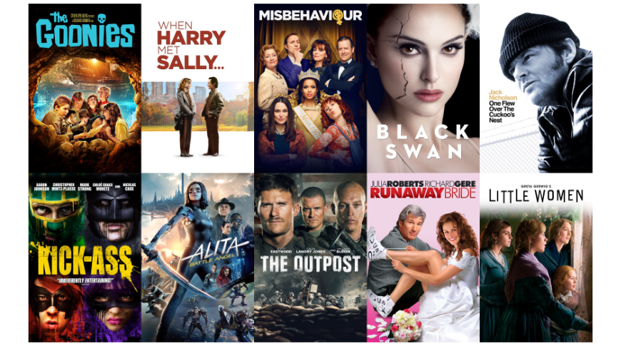 photo of 'Little Women,' 'The Goonies,' and 'Runaway Bride' - the best iTunes video deals image