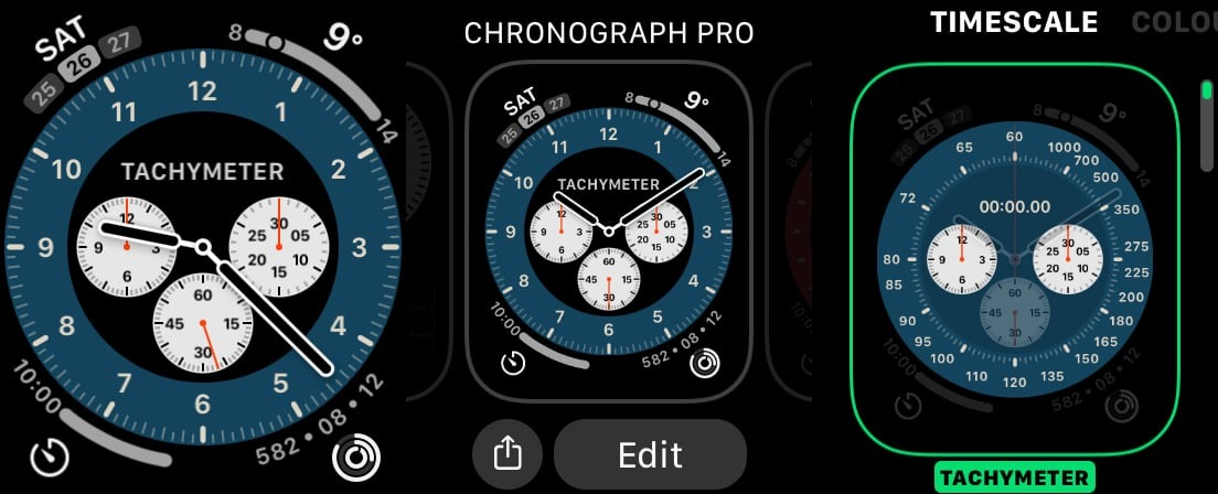 How to access the watch menu of the watchOS in watchOS 7