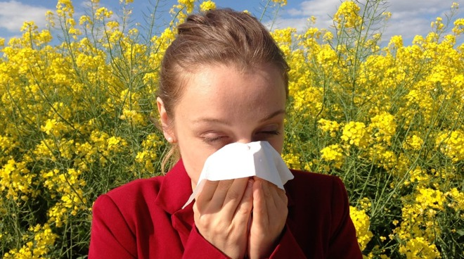 Detecting particulates in the air could help hayfever suffers avoid pollen.