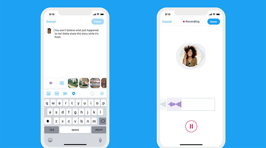 photo of Twitter voice tweets rolls out to more iOS users, transcriptions in development image