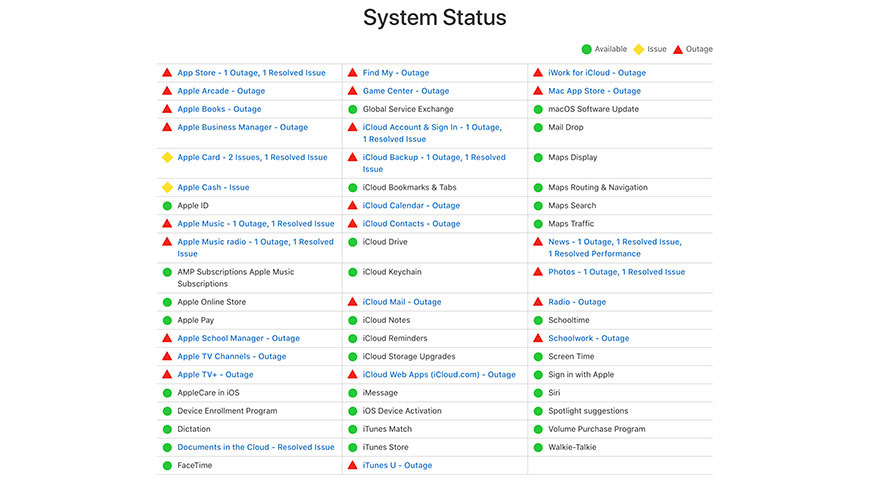 photo of Apple services outage impacts App Store, Apple Music, Apple TV+, Apple News, iCloud, more [u] image