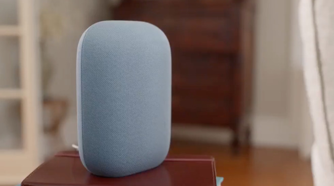 The Nest Audio Speaker has room filling audio