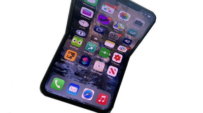 Foldable iPhones could have displays that heal creases or dents themselves