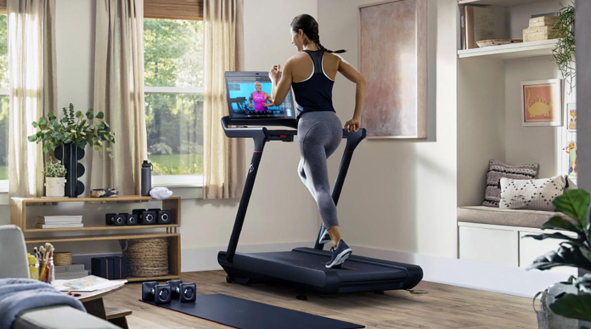 Third-party accessories like Peloton sync with HealthKit or GymKit