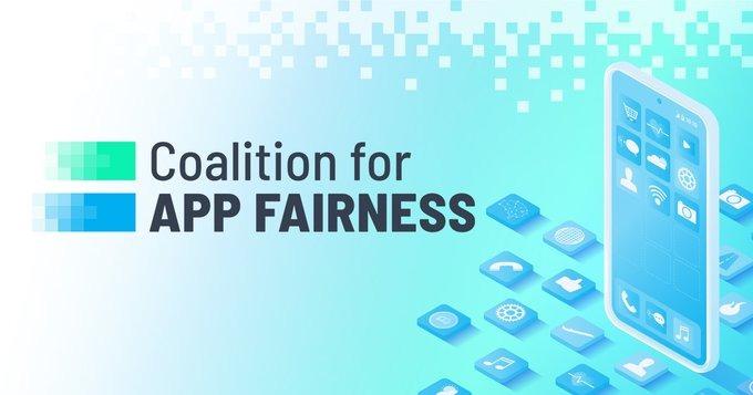 The Coalition for App Fairness logo [Twitter]